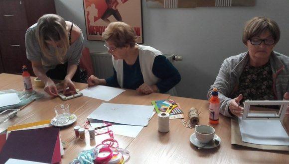 Warsztaty plastyczne dla seniorów – spotkanie organizacyjne