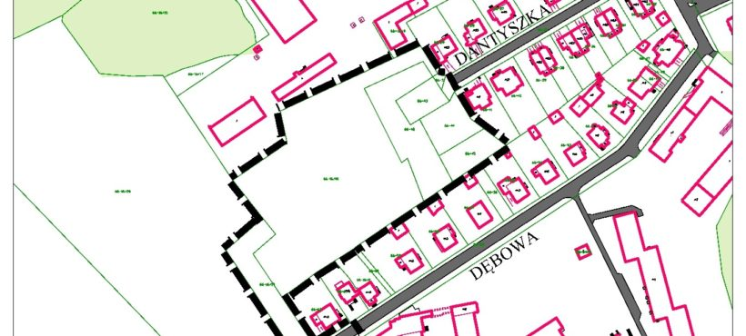 Nabór wniosków do planów zagospodarowania dla ulicy Wroniej oraz rejonu ulic Dantyszka i Dębowej