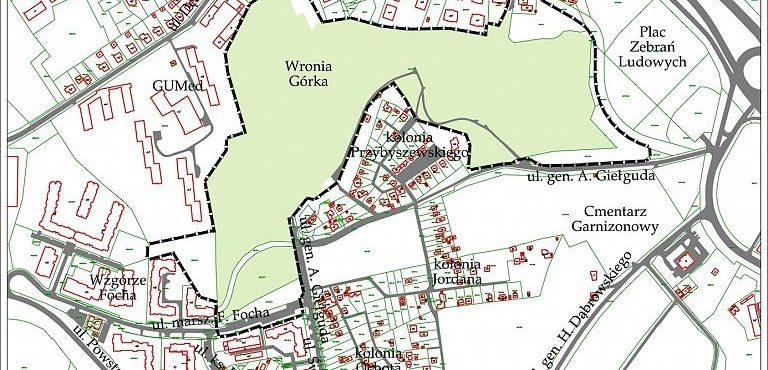 Przystąpienie do sporządzenia planu zagospodarowania przestrzennego Wronia Górka