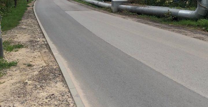 Budowa chodnika na ul. Nowej Medyków