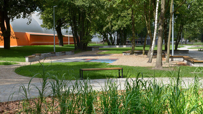 Powstała ogólnodostępna strefa rekreacyjna przy Centrum Sportu Akademickiego PG na Aniołkach