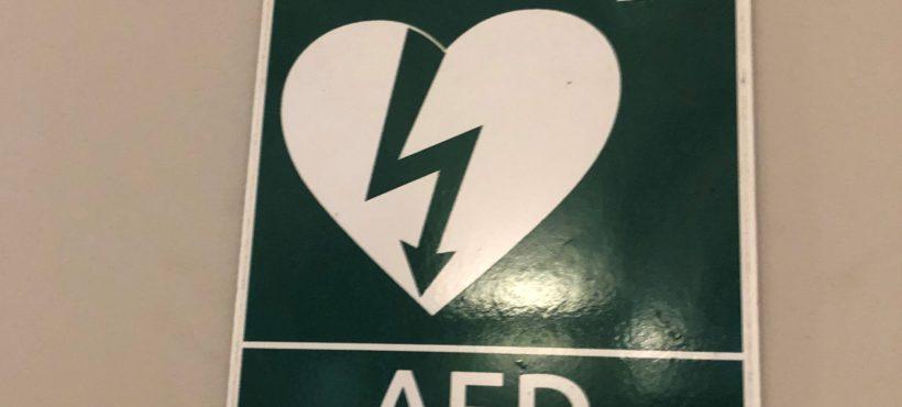 Mapa defibrylatorów AED na Aniołkach