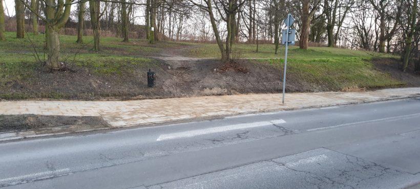 Remont i poszerzenie chodnika przy ul. Dąbrowskiego