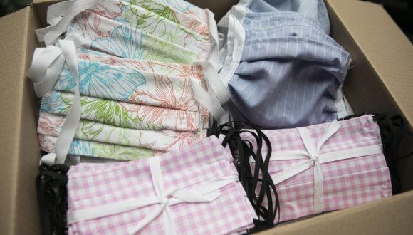 4000 sztuk maseczek wielokrotnego użytku dla seniorów!