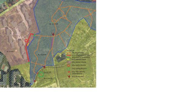 """Postępy prac nad projektem """"Super ścieżka – atrakcyjne zagospodarowanie terenu łączącego górny i dolny taras Aniołek"""""""