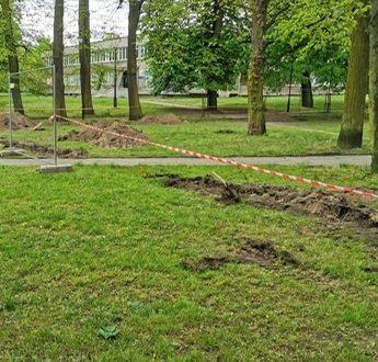 Nowe zagospodarowanie w Parku Akademickim