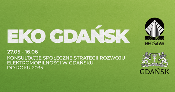 Elektromobilność w Gdańsku – zaproszenie na spotkanie on-line w ramach konsultacji społecznych