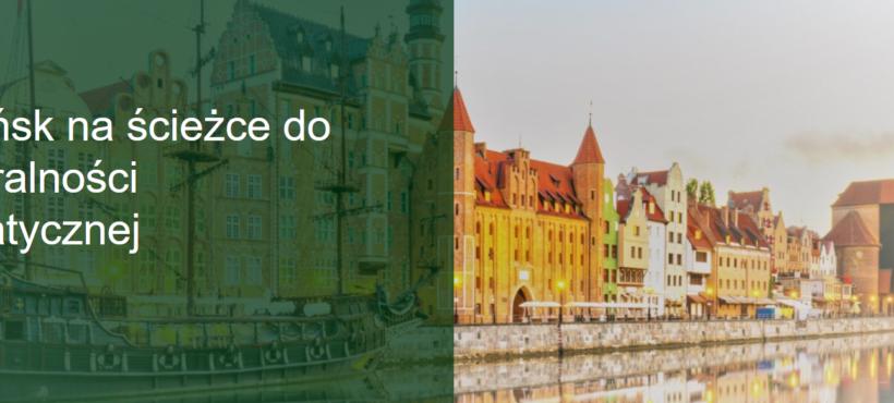 Gdańsk na ścieżce do neutralności klimatycznej – dyskusja i warsztaty dla mieszkańców 10.09.2020 r.