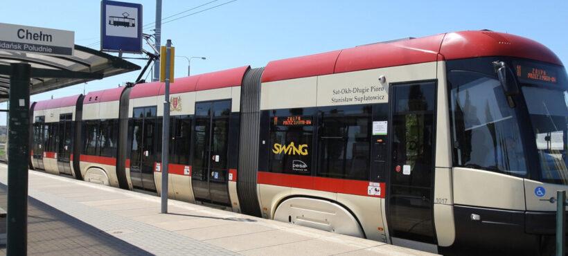 Uroczystość nadania tramwajowi imienia Zbigniewa Jujki