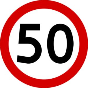Al. Zwycięstwa z ograniczeniem prędkości do 50 km/h