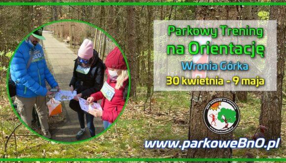 Parkowy Trening na Orientację nr 18  Wronia Górka 30 kwietnia – 9 maja‼