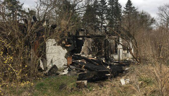 Problem wysypiska śmieci i podpaleń na Koloniach