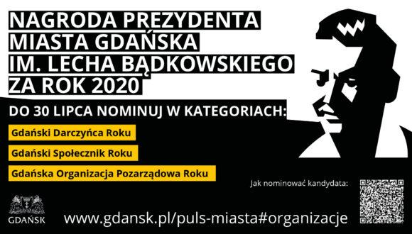 Nagroda im. Lecha Bądkowskiego – zapraszamy do zgłaszania kandydatur do 30 lipca 2021 r.